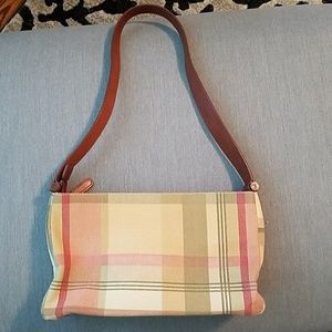 Fossil small plaid purse